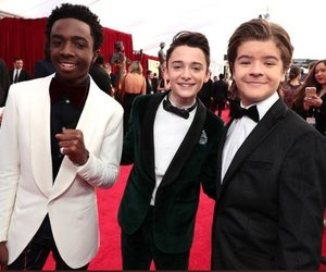 stranger things, gaten matarazzo, and sag awards image