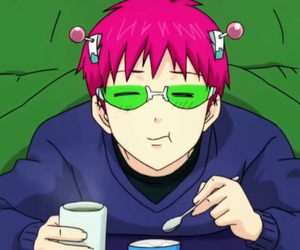 anime and saiki kusuo no psi nan image