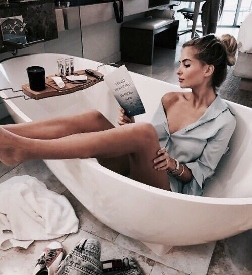 bath, relaxation, and relaxing image