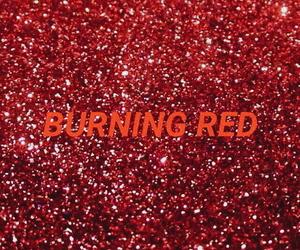 glitter, Lyrics, and red image