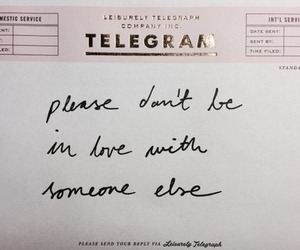 love, quotes, and telegram image