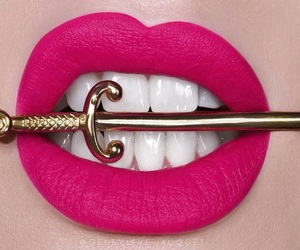 labios, lips, and make up image