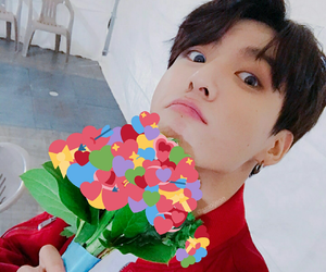 bts, heart, and meme image