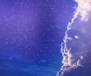 aesthetic, clouds, and peterpan image