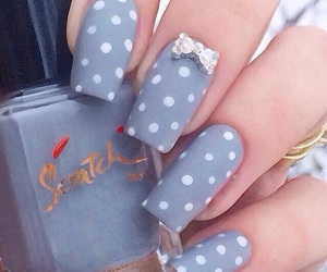 art, girly, and manicure image