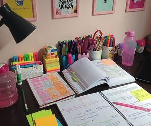 goals, office, and school image