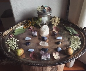 altar, nature, and ritual image