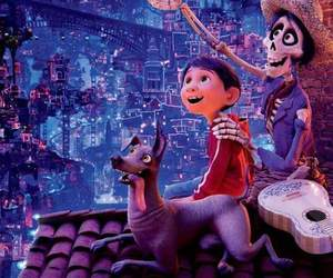 background, coco, and movie image