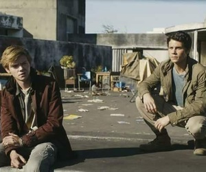 newtmas, thomas, and the maze runner image