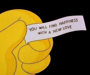 love, quotes, and simpsons image