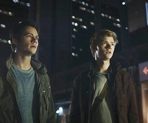 the maze runner, the death cure, and newtmas image