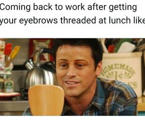eyebrows, humor, and women image