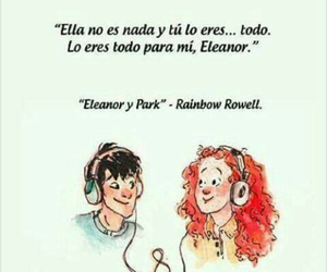 book, frases, and eleanor y park image