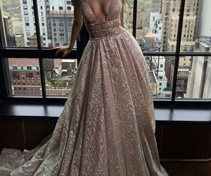 dress, fashion, and model image