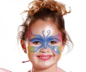 face painting and cute image