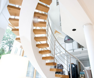 aesthetic, creative design, and stairs image