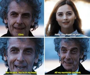 clara, doctorwho, and memory image