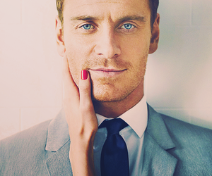 michael fassbender, sexy, and man image