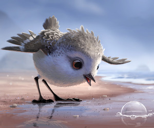 bird, disney, and piper image