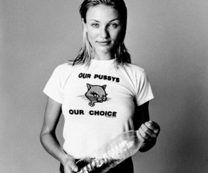black and white, body, and cameron diaz image