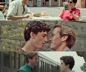 italy, lgbt, and call me by your name image