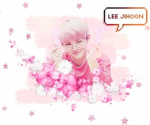 pink, cute, and woozi image