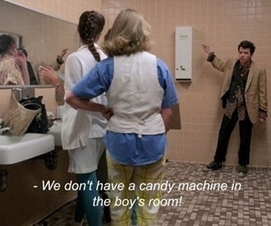 pretty in pink, funny, and duckie image