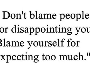 blame, expect, and people image