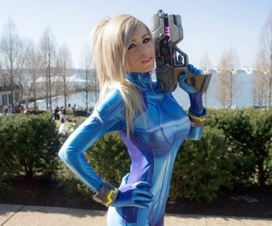 cosplay, gaming, and metroid image