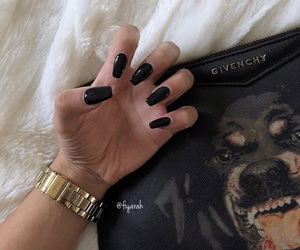 manicure, fashion style, and givenchy bag image