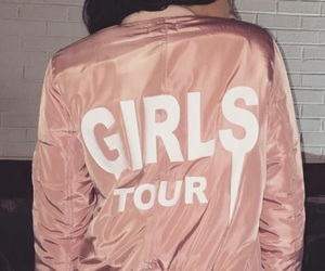 pink, rose gold, and jacket image
