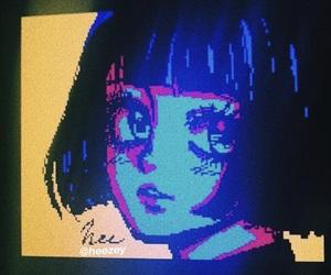 drawing, girl, and kawaii image
