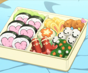 anime, bento box, and japan image