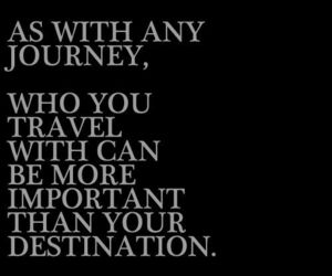journey, quotes, and travel image