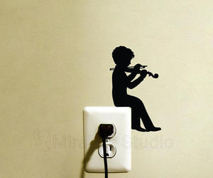 boy, vinyl, and wall sticker image