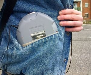 90's, aesthetic, and Discman image