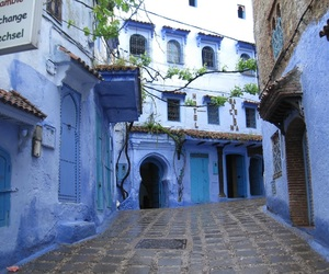 morocco, blue, and travel image
