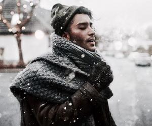 cozy, snow, and winter image