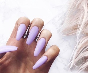beauty, nails, and acrylic nails image