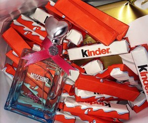 kinder, chocolate, and dessert image