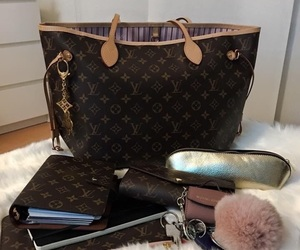 fashion, handbag, and Louis Vuitton image
