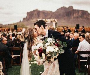 wedding, couple, and boy image