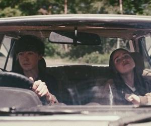 Alyssa, car, and james image
