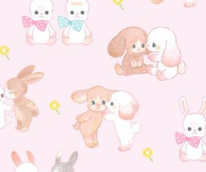 blue, wallpapers, and bunny image