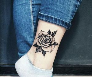 flor, flower, and tatto image