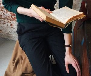 aesthetic, book, and boys image