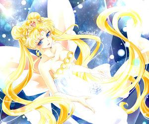 neo queen serenity, sailor moon fanart, and しらたき image