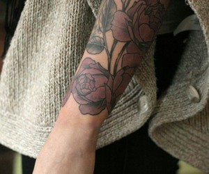 arm and tattoo image