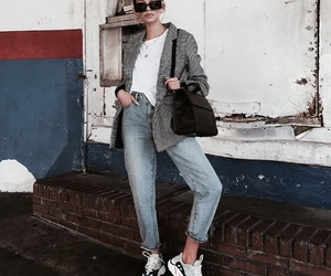 chic, vogue, and denim image