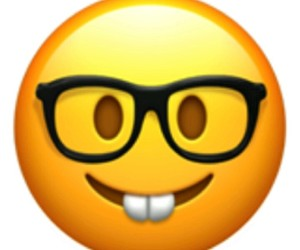 glasses, whatsapp, and smile image